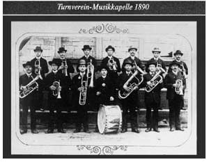 Turnverein-Musikkapelle 1890