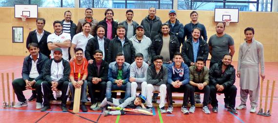 Die Aktiven der Abtl. Cricket 2016