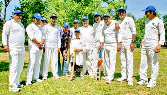 Egelsbacher Cricket-Mannschaft 2012